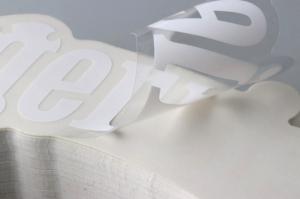 PVC투명 스티커 / SSK 160001 /